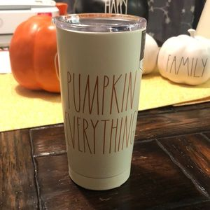 NWT Rae Dunn Pumpkin Everything Tumbler